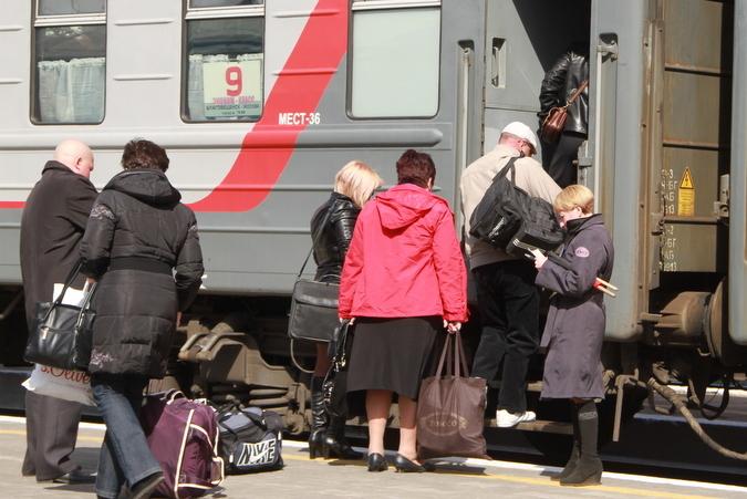 Поезд Благовещенск – Москва